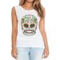 Transfer sublimático para camiseta Caveira Mexicana 002043