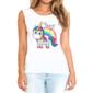 Transfer sublimático para camiseta Unicórnio 004500