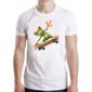 Transfer sublimático para camiseta Sapos Funny 003629