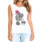 Transfer sublimático para camiseta Feminina 002385