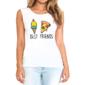 Transfer sublimático para camisa Amizade 004549