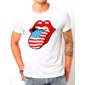 Transfer sublimático para camiseta The Rolling Stones 002133