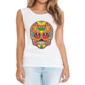 Transfer sublimático para camiseta Caveira Mexicana 002050