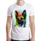 Transfer sublimático para camiseta Abstrata 004809