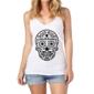 Transfer sublimático para camiseta Caveira Mexicana 000100
