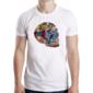Transfer sublimático para camiseta Caveiras 003640
