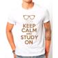 Transfer sublimático para camiseta Keep Calm 002954