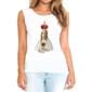 Transfer sublimático para camiseta Santos 004454
