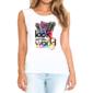 Transfer sublimático para camiseta Feminina 004124