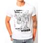Transfer sublimático para camiseta Zombies 001923