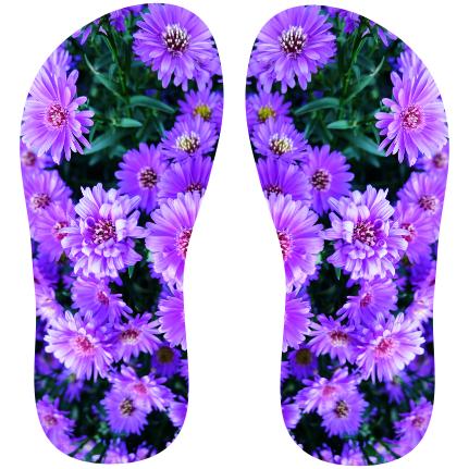 13c6b57b5 Transfer sublimático para chinelo Floral 000558 - Customize Transfer