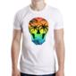 Transfer sublimático para camiseta Caveiras 003693