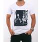 Transfer sublimático para camiseta Charlie Chaplin 001281