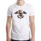 Transfer sublimático para camiseta Caveiras 003662