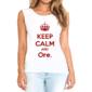 Transfer sublimático para camiseta Keep Calm 002955