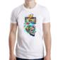 Transfer sublimático para camiseta Caveiras 003715