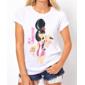 Transfer sublimático para camiseta Amy Winehouse 000167