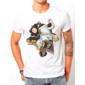 Transfer sublimático para camiseta Radical 001420