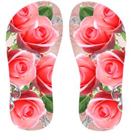 b27e51abb Transfer sublimático para chinelo Floral 001480