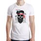 Transfer sublimático para camiseta Caveiras 003661
