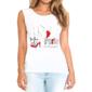 Transfer sublimático para camiseta Feminina 002257