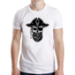 Transfer sublimático para camiseta Caveiras 004529