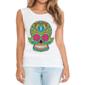 Transfer sublimático para camiseta Caveira Mexicana 002053