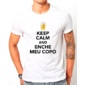 Transfer sublimático para camiseta Keep Calm 002946
