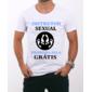 Transfer sublimático para camiseta Engraçada 000518