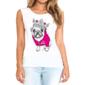 Transfer sublimático para camiseta Feminina 004225