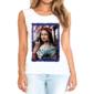 Transfer sublimático para camiseta Feminina Mona Lisa 003313