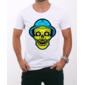 Transfer sublimático para camiseta Seu Madruga Skull 000521