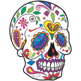 e536890bd Transfer sublimático para camiseta Caveira Mexicana 002055