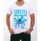 Transfer sublimático para camiseta Nirvana 000289
