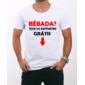 Transfer sublimático para camiseta Engraçada 000503