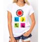 Transfer sublimático para camiseta Red Hot Chili Peppers 000312