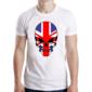 Transfer sublimático para camiseta Caveiras 004535