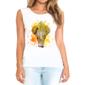 Transfer sublimático para camiseta Feminina 002435
