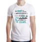 Transfer sublimático para camiseta Frases 004389