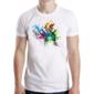 Transfer sublimático para camiseta Abstrata 003600