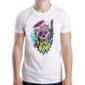 Transfer sublimático para camiseta Caveiras 004537