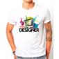 Transfer sublimático para camiseta Web Designer 003041