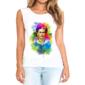 Transfer sublimático para camiseta feminina Frida Kahlo 003069