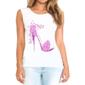 Transfer sublimático para camiseta Feminina 002259