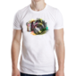 Transfer sublimático para camiseta Abstrata 003615