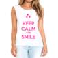 Transfer sublimático para camiseta Keep Calm 002953