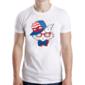 Transfer sublimático para camiseta Animal Hipster 003451