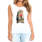 Transfer sublimático para camiseta Feminina 004199