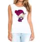 Transfer sublimático para camiseta Animal Hipster 004476