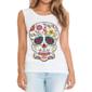 Transfer sublimático para camiseta Caveira Mexicana 002044